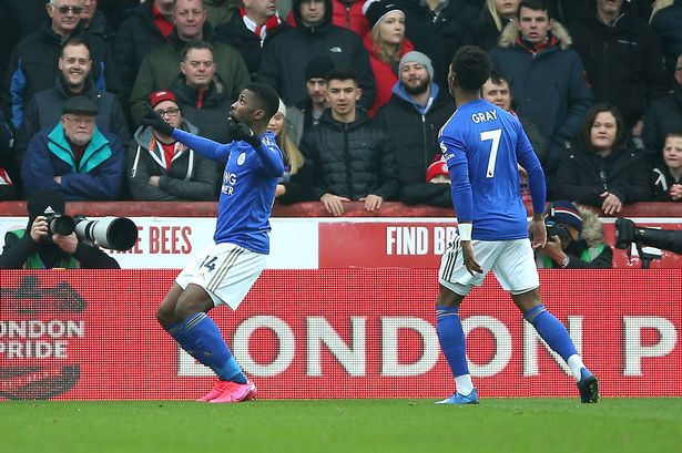 Iheanacho Nominated For Leicester City Goal Of The Month