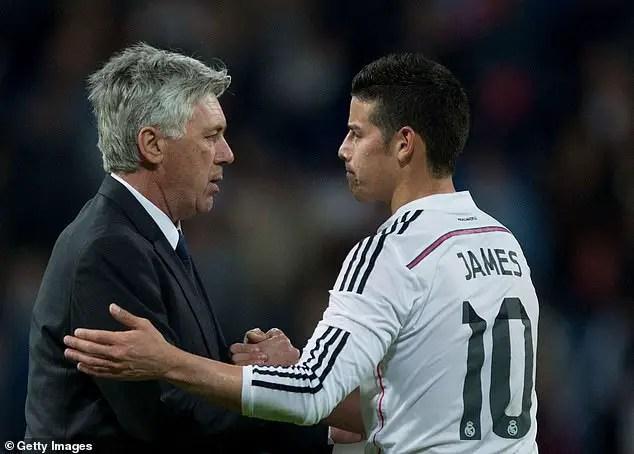 Madrid Star Rodriguez Set To Join Iwobi At Everton
