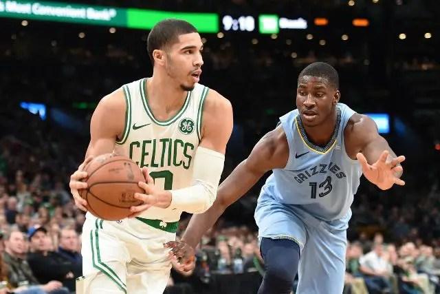 Celtics And Gordon Hayward Will Host Grizzlies At TD Garden