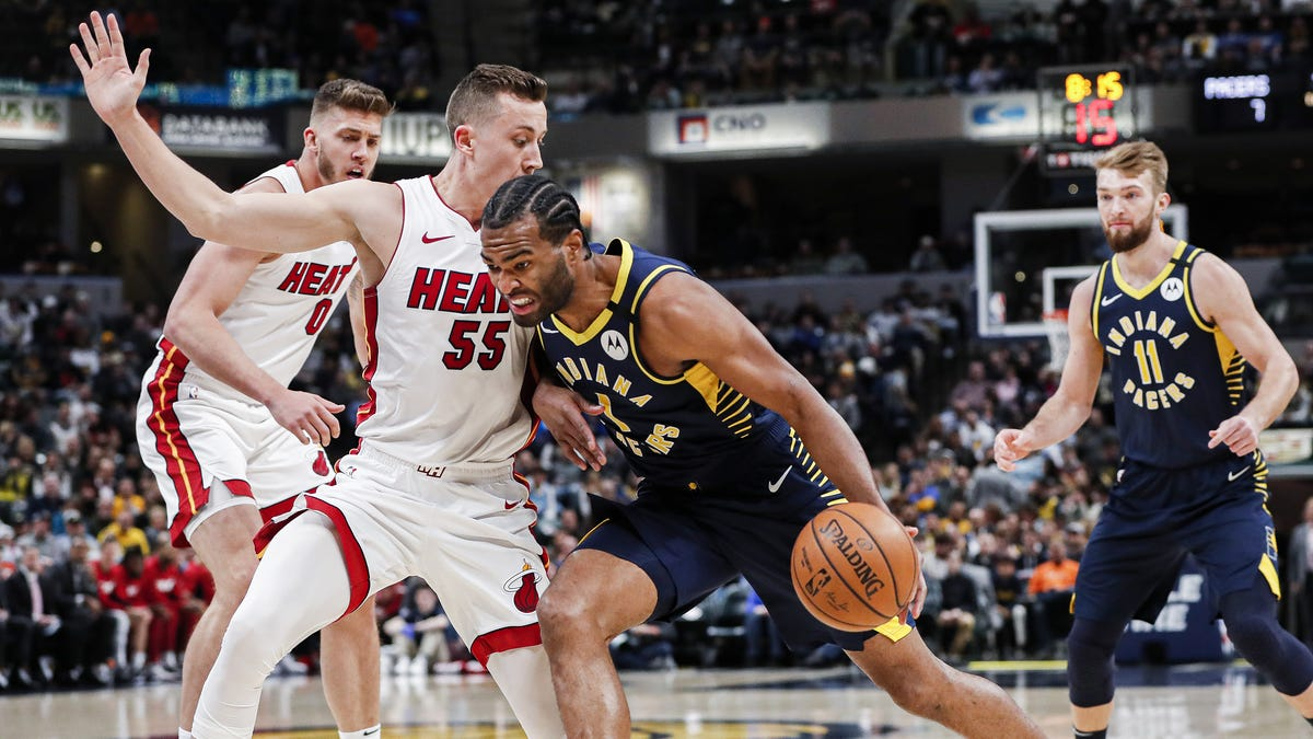 Domantas Sabonis Finishes With 27 Points And 14 Rebounds As Pacers Come Up Short And Lose To Heat 122-108 At Home