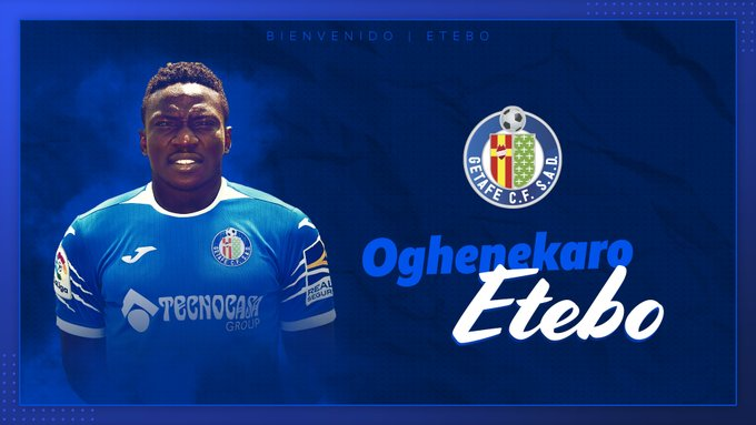 OFFICIAL! Etebo Joins Getafe On Six-Month Loan Deal From Stoke City