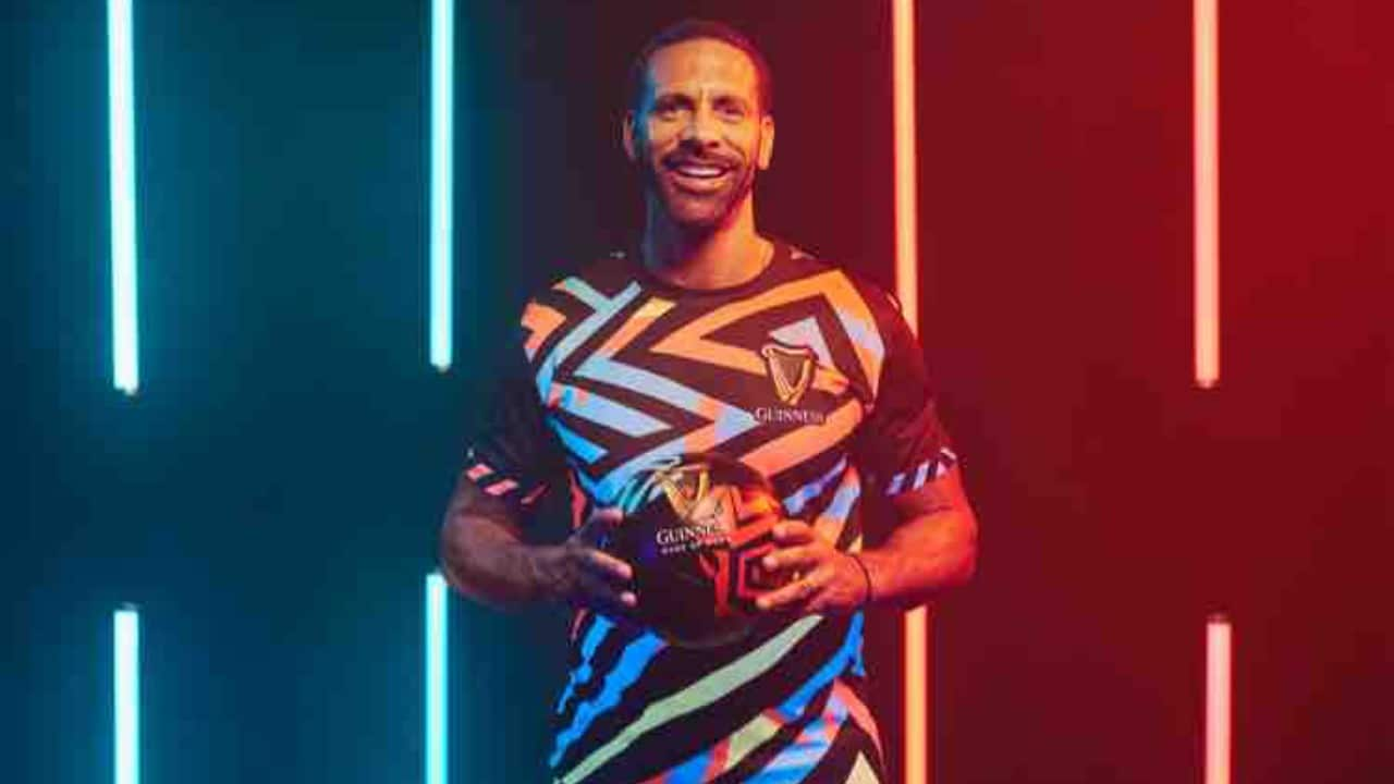 Rio Ferdinand In Lagos For Guinness Night Football Pan-African Finale