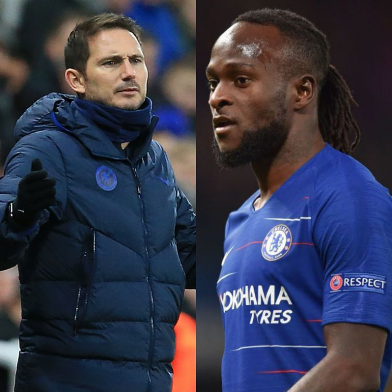 Lampard Confirms Another Moses' Move Away From Chelsea