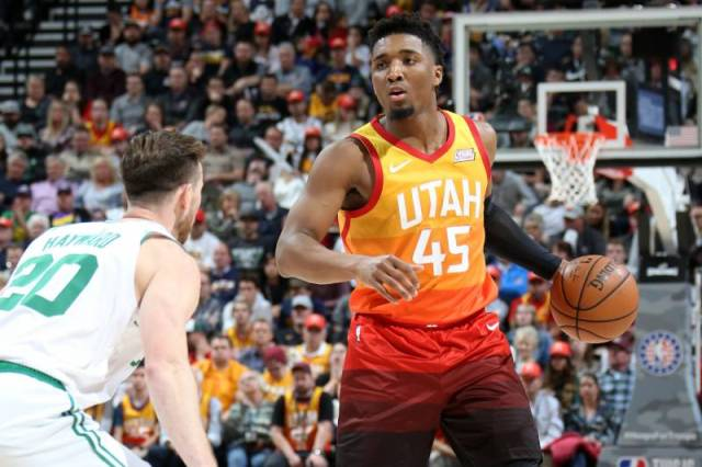 Jazz And Donovan Mitchell Will Host Knicks At Vivint Smart Home Arena