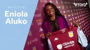 Ex England Striker Eniola Aluko Appointed Has Aston Villa Women Sporting Director