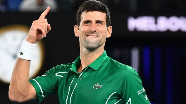 Djokovic Strolls Past Federer To Reach Autralian Open Final