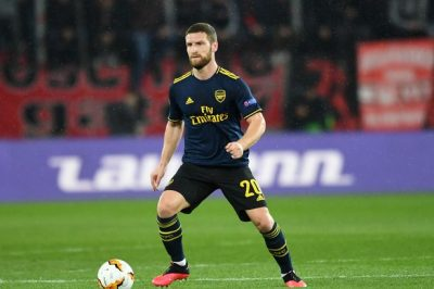 Mustafi Compared To Van Dijk By Arsenal Fans After Improved Form