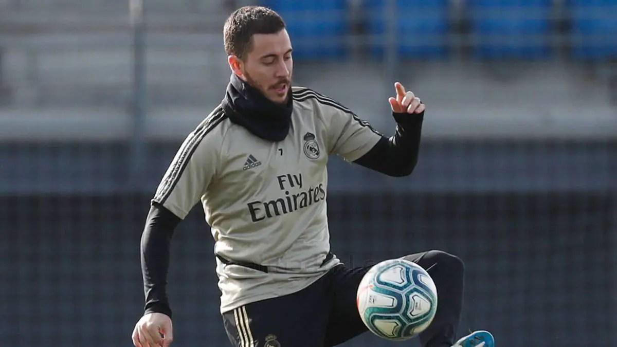 Hazard Set For Madrid Return In Copa del Rey Clash After Injury Setback