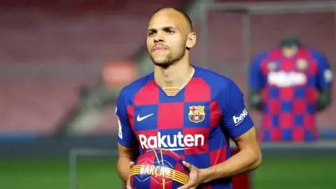 Barcelona Activate Right For Emergency Transfer, Sign  Braithwaite From Leganes