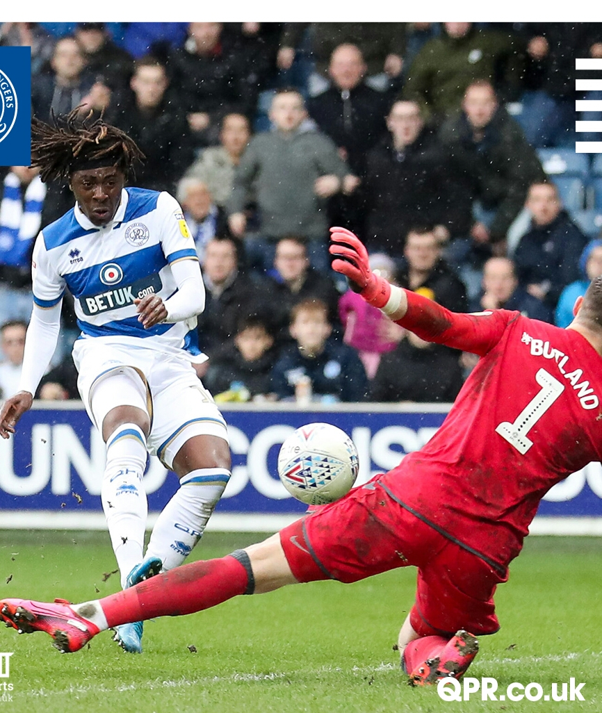 Eze Bags Assist; Helps QPR Beat Rooney's Derby County