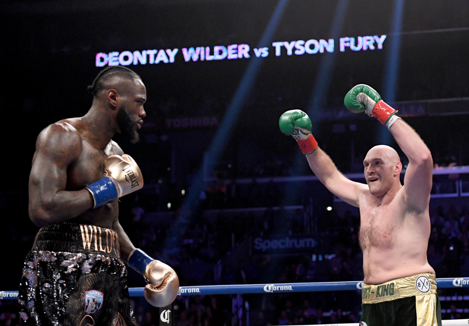 Wilder Will Profit From Fury's Switch of Trainers in Rematch   –Jay Deas