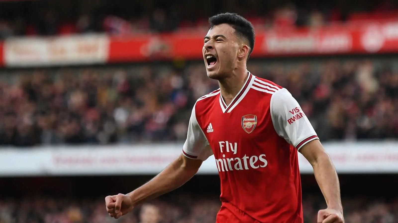 Martinelli Beats Saka To Arsenal's January POTM Award