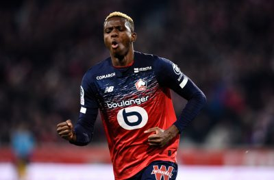 Ligue 1: Osimhen On Target In Lille's 2-0 Away Win Vs Angers