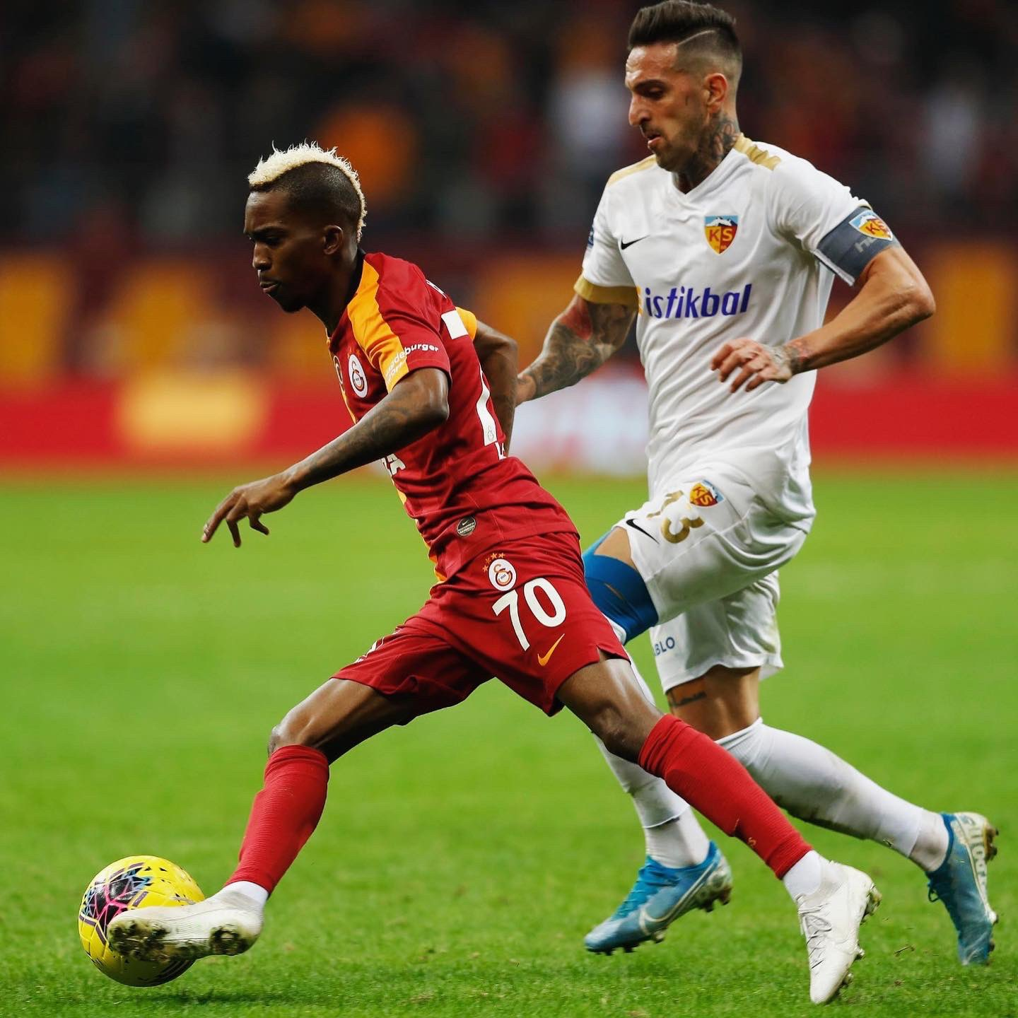 Onyekuru Delighted With Assist In Galatasaray's Debut
