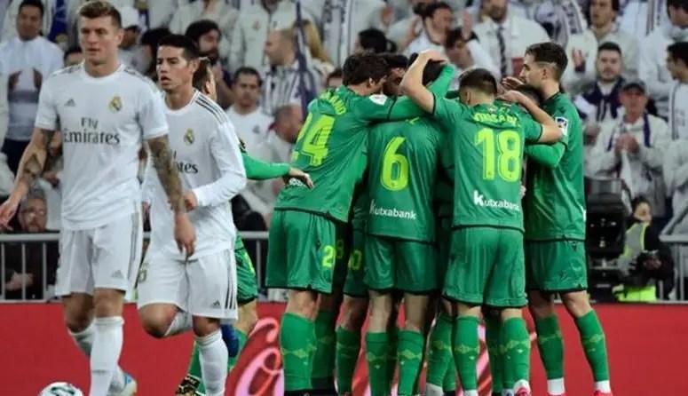 Sociedad Dump Real Madrid Out of Copa del Rey