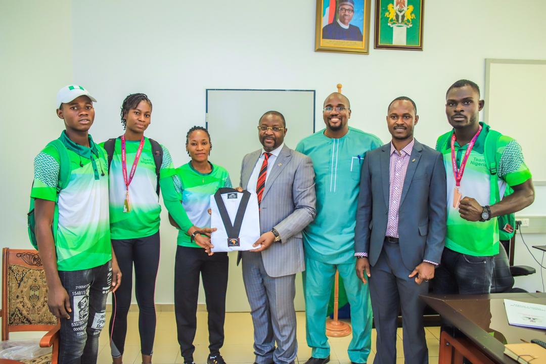Dare Lauds Nigeria's Taekwondo Team For Good Outing at 8th Fujairah Open