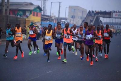 access-bank-lagos-city-marathon-david-barmasai-tumo-sharon-cherop-babajide-sanwo-olu-herbert-wigwe
