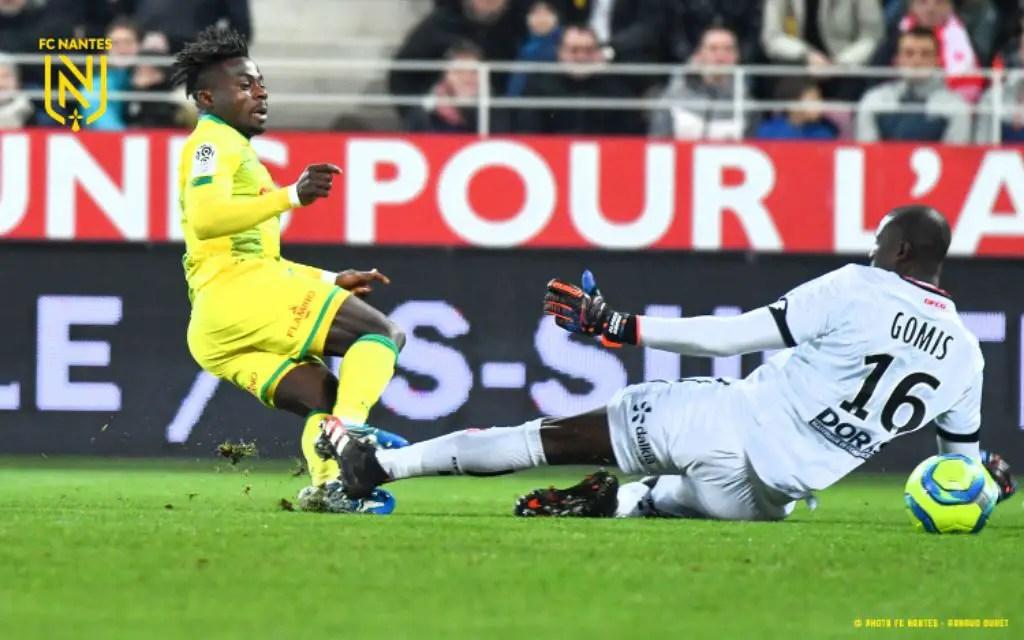 Simon Voted Nantes Man-of-The-Match in Away Draw vs Dijon