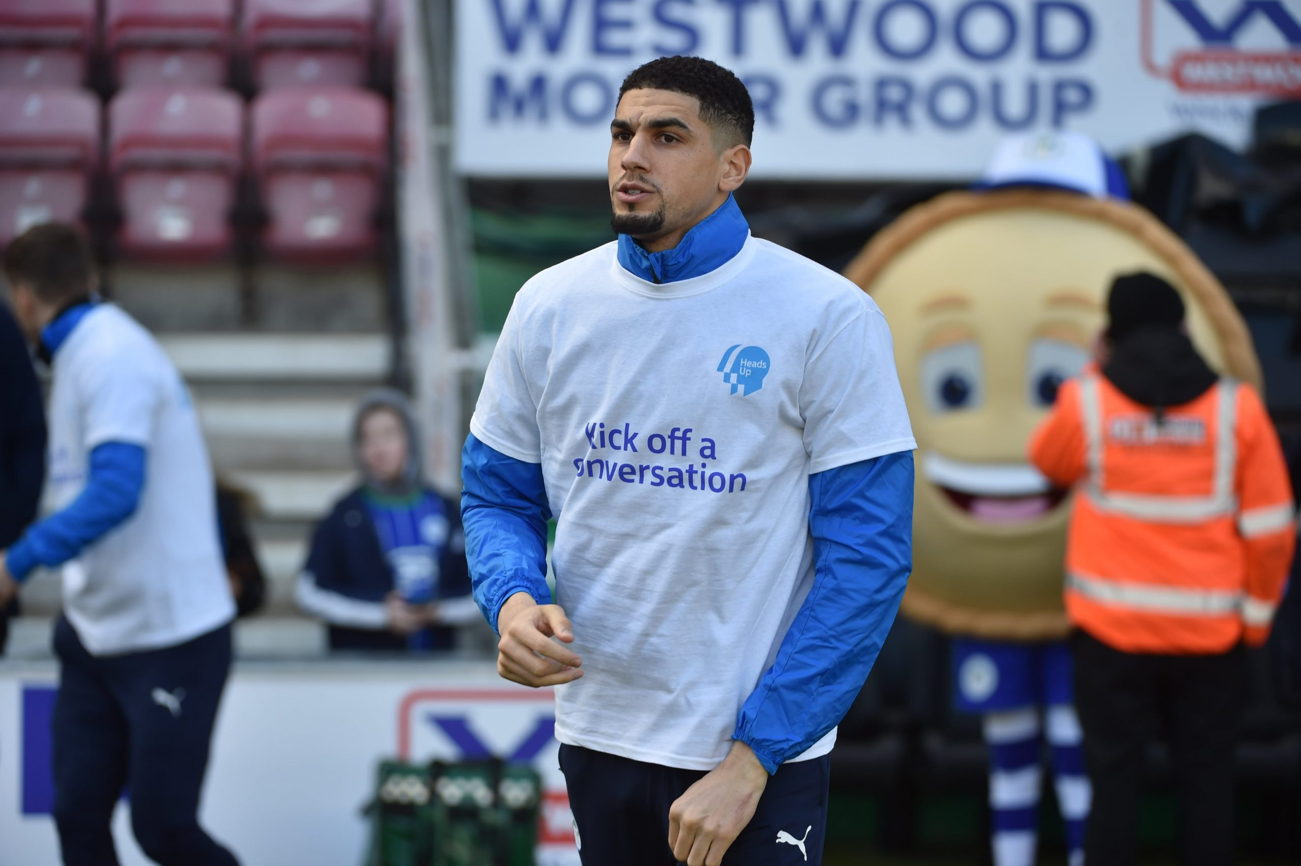 Balogun's Wigan Boss Cook Charged For Improper Conduct