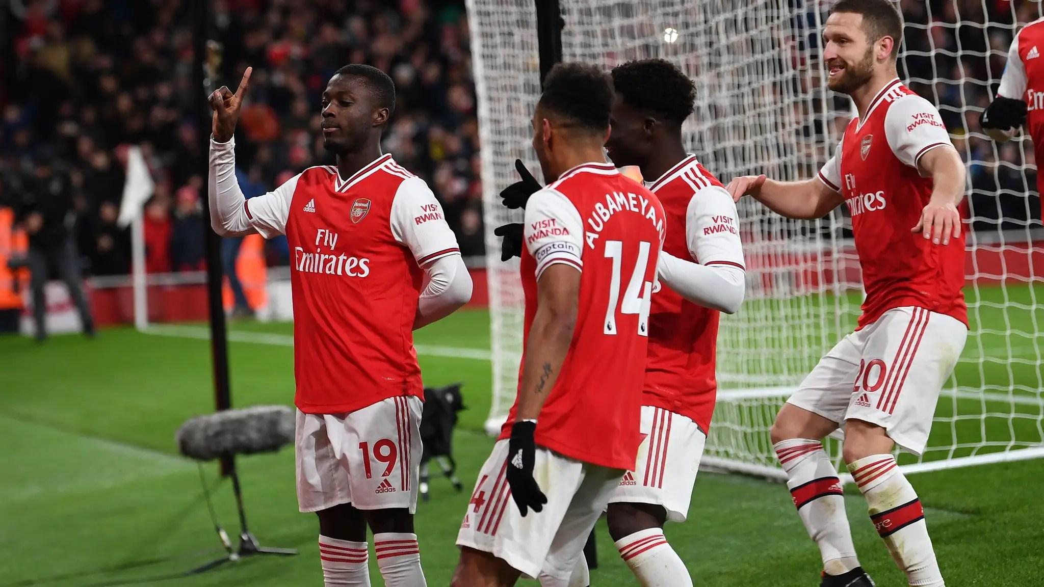 Saka Bags Assist As Arsenal Thrash Newcastle To End Premier League Winless Run