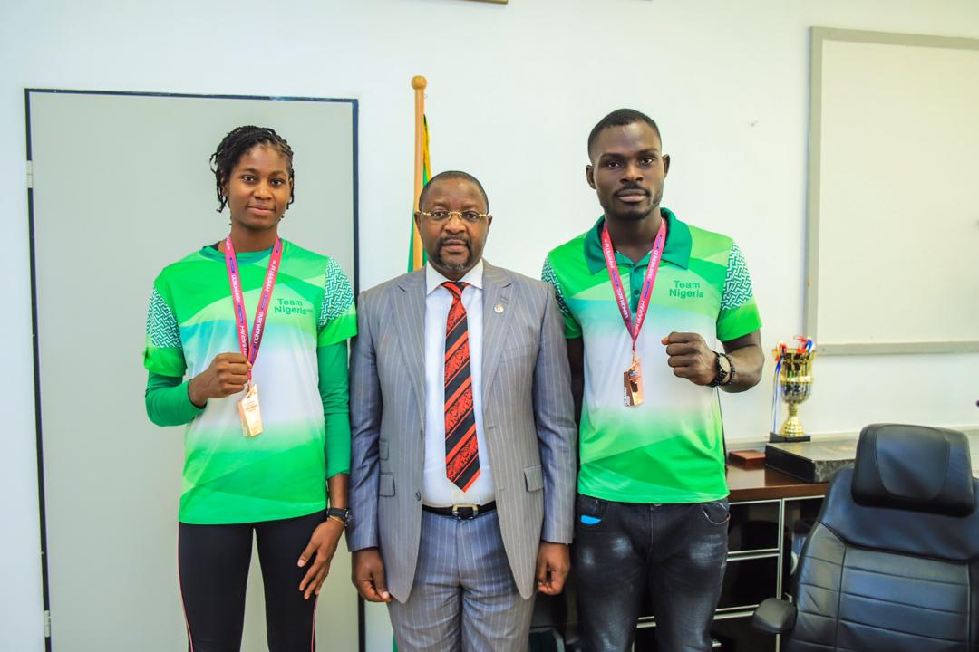 Sports Minister Dare to  Team Nigeria Athletes: 'Your Welfare Is My Priority'