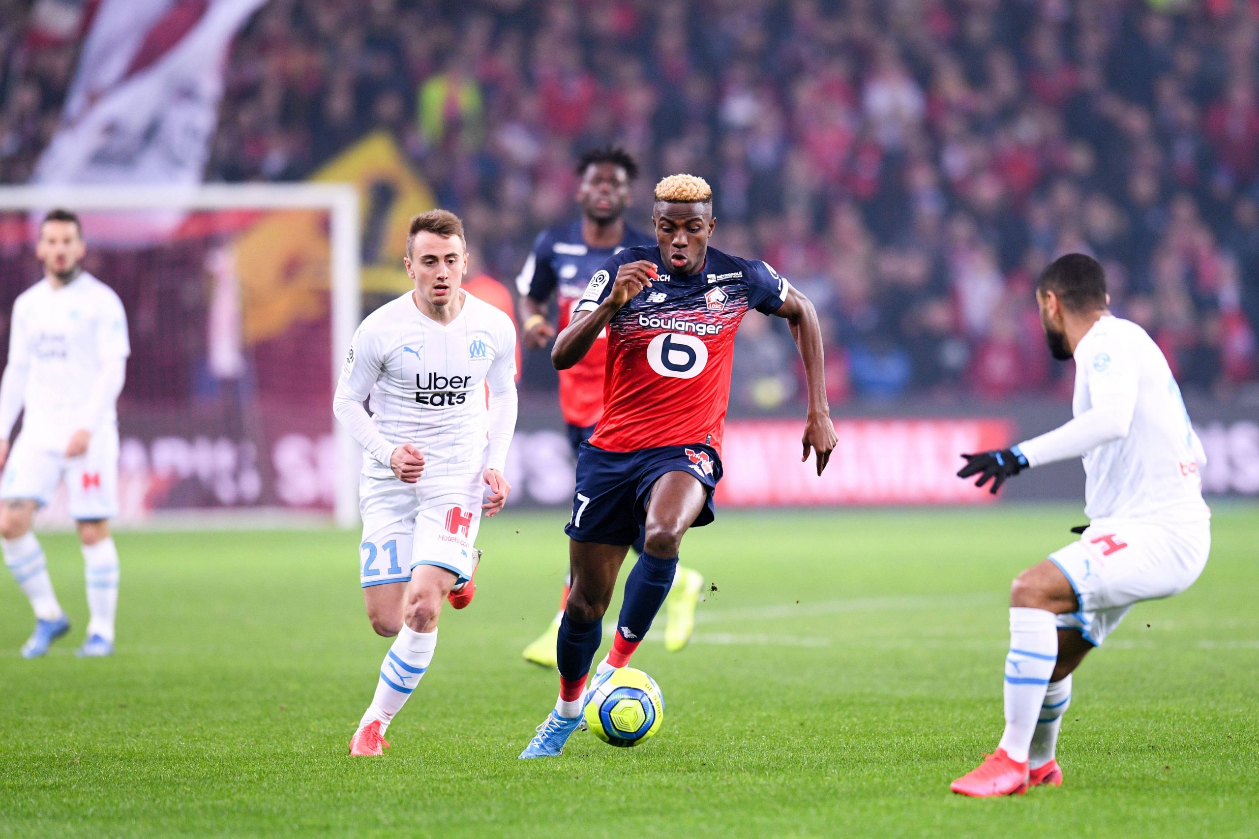 Ligue 1: Osimhen Rues Lille  Home Loss To Olympic Marseille