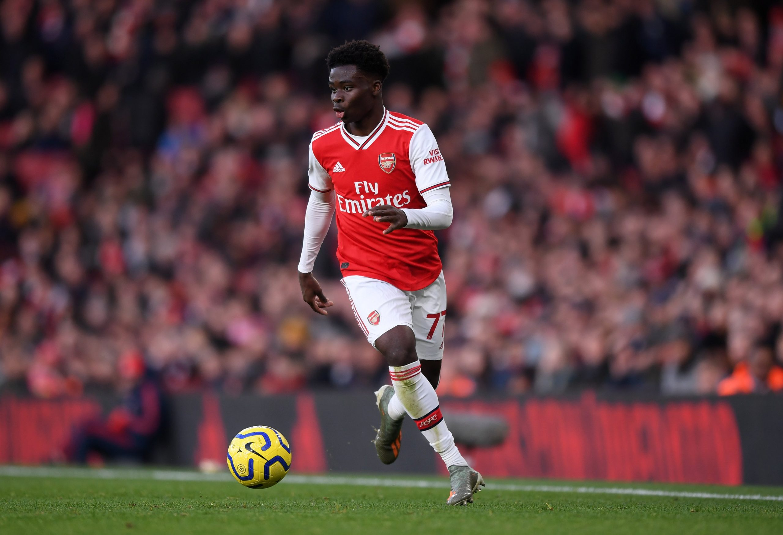 Parlour Wants Saka To Sign New  Arsenal Contract