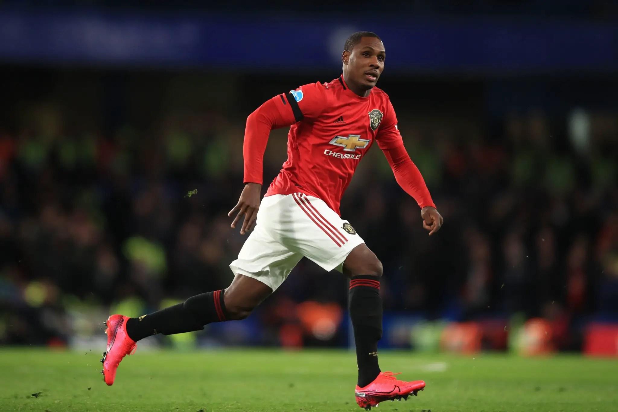 Ighalo Wants Martial Partnership At Man United