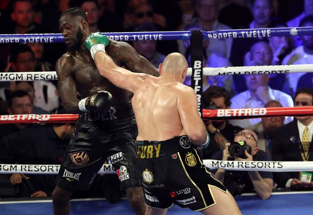 Wilder To Sack Coach  Who Threw In The Towel Against Fury