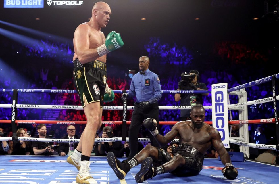 Fantastic Fury Batters Wilder To Win WBC Heavyweight Championship