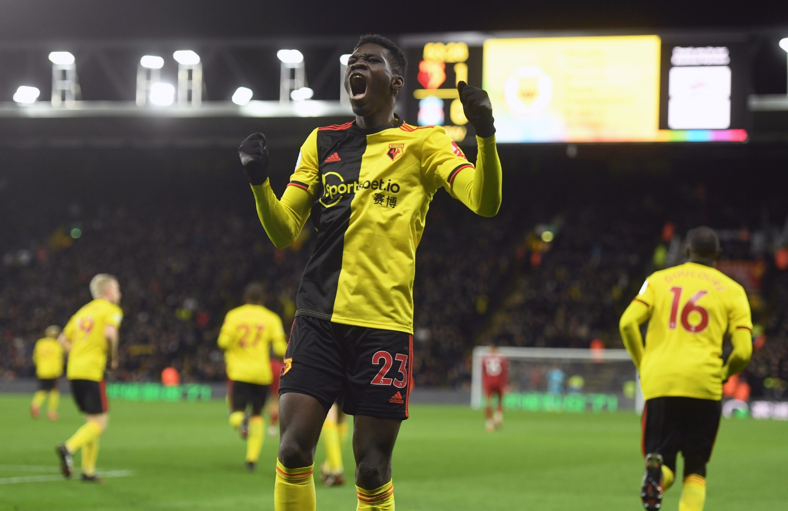 EPL: Success Missing In Action As Watford End Liverpool's Unbeaten Premier League Run