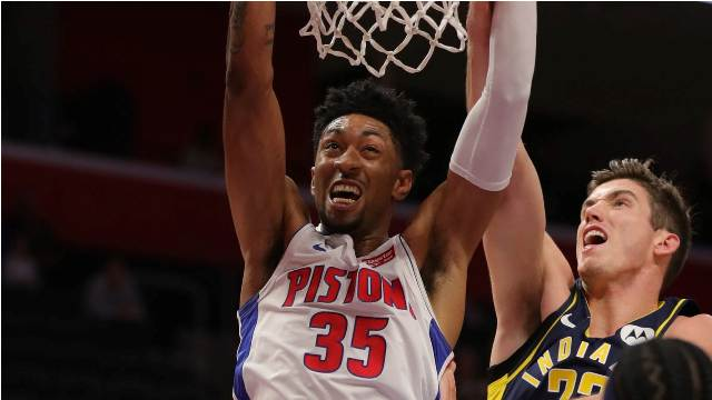 Pistons And Christian Wood To Host Bucks At Little Caesars Arena