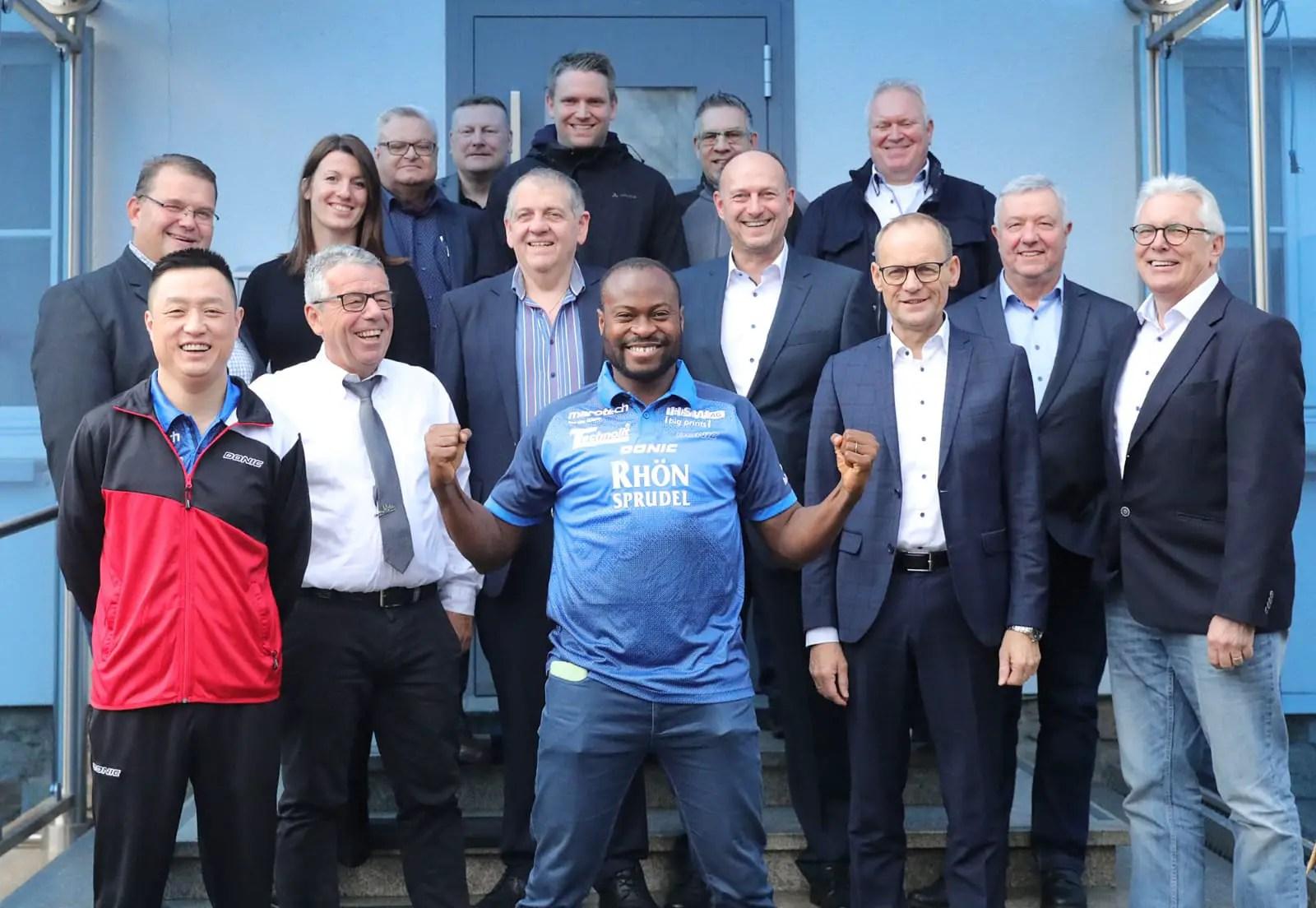 German Bundesliga Club TTC RhonSprudel Sign Aruna Quadri