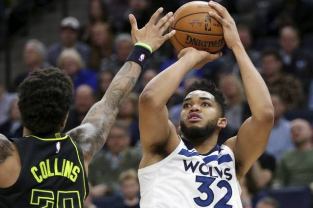 T-wolves And Karl-Anthony Towns Will Host Hawks At Target Center