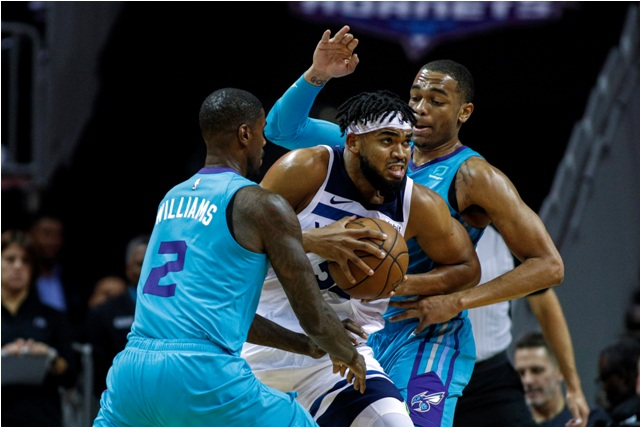 Wolves And Karl-Anthony Towns To Host Hornets At Target Center
