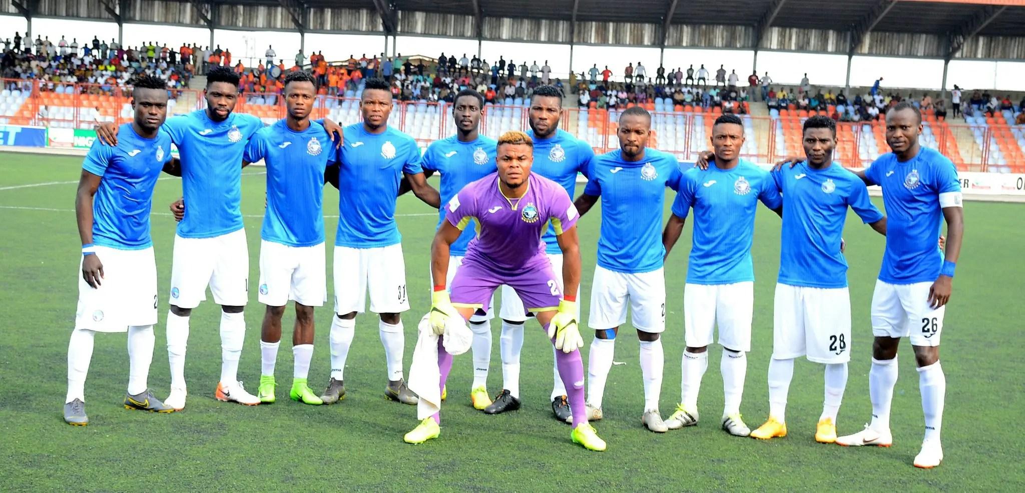 CAFCC: Sakin Scores As Horoya Pip Enyimba 2-0 To Make Semis Cut