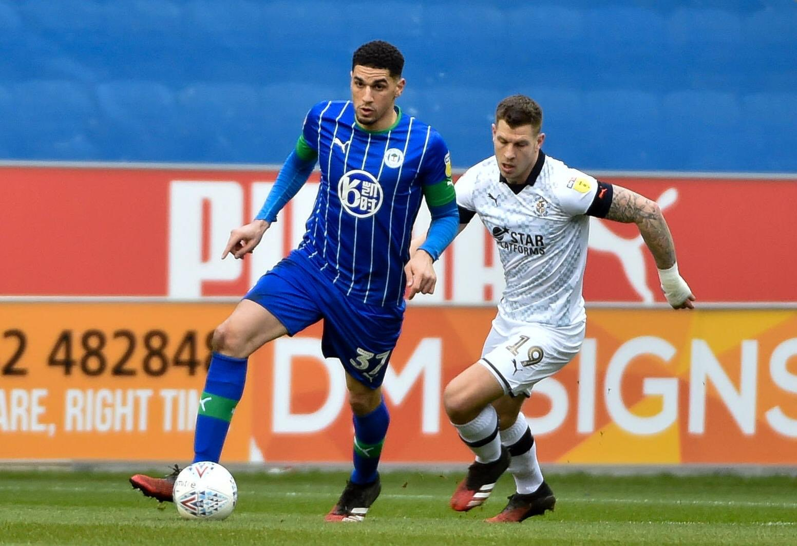 Balogun Celebrates Wigan's 4th Consecutive Clean Sheets In Draw Vs Luton