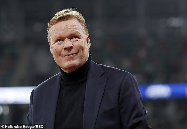 Koeman Wants Barcelona To Sign Depay Over Aguero