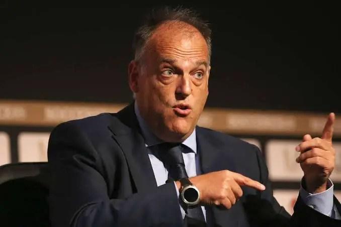 LaLiga Chief Tebas: Premier League, European Football Targeting Mid- May Restart