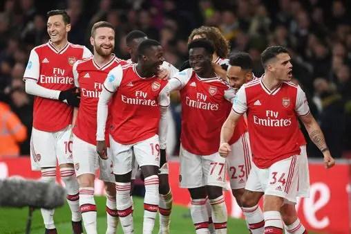 Coronavirus: Saka, Arsenal Teammates Agree 12.5% Pay cut Until March 2021