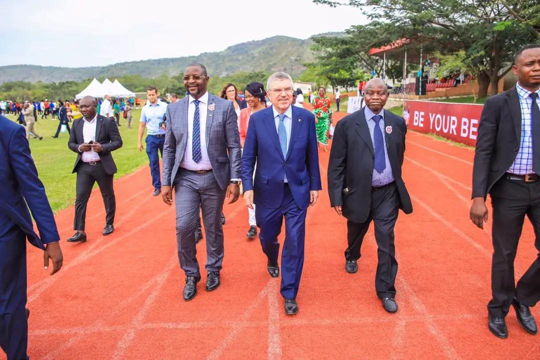 IOC Commends Dare, NOC On Covid-19 Awareness Campaign