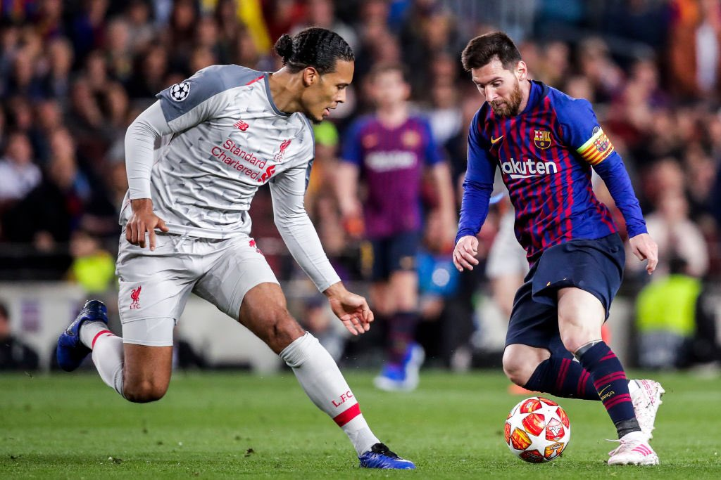 Van Dijk Names Messi As His Toughest Opponent