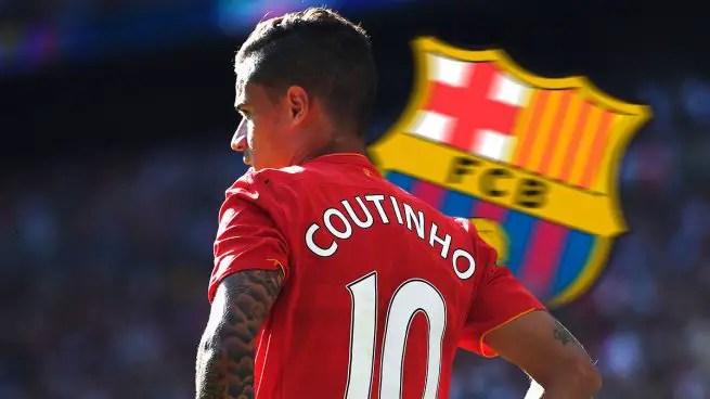 Chelsea Make Contact Over Barcelona's  Coutinho