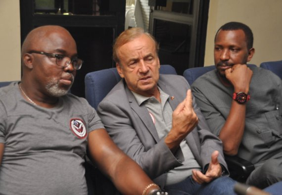 Toro Opposes NFF On Naira Salary Condition To Rohr For Contract Extension