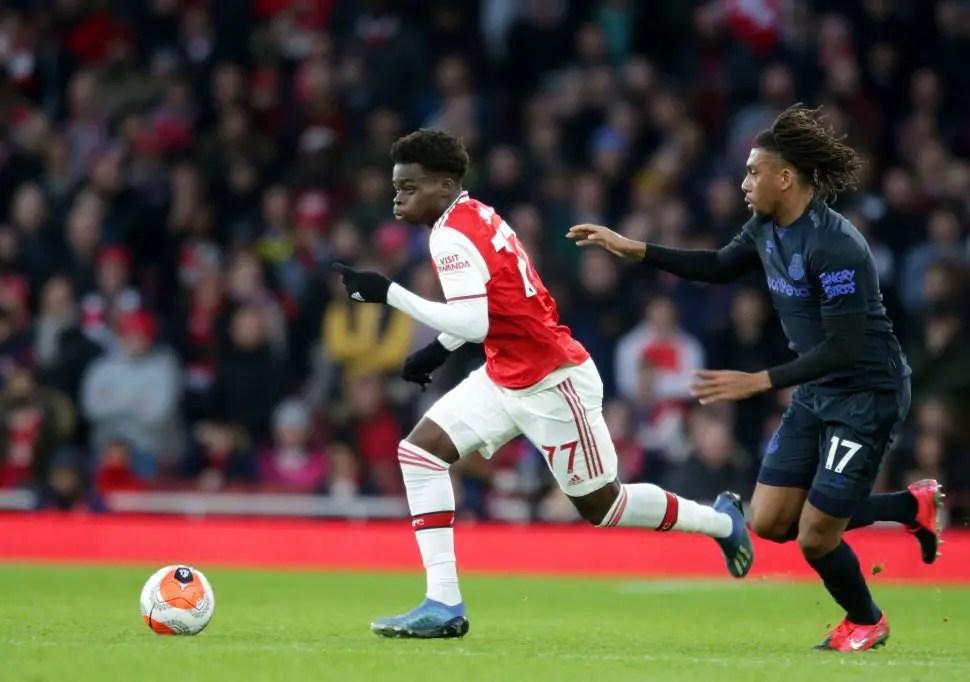 Liverpool Eye Saka Transfer Swoop