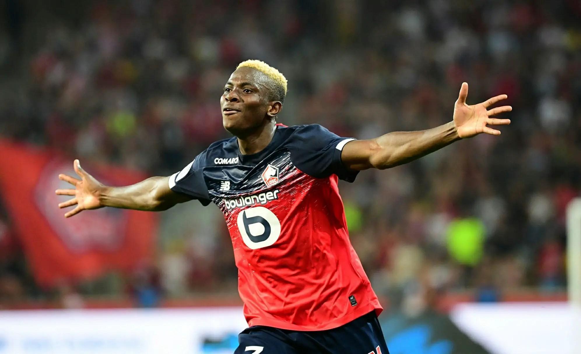 Osimhen Emerges Fourth Best Scorer In Ligue 1