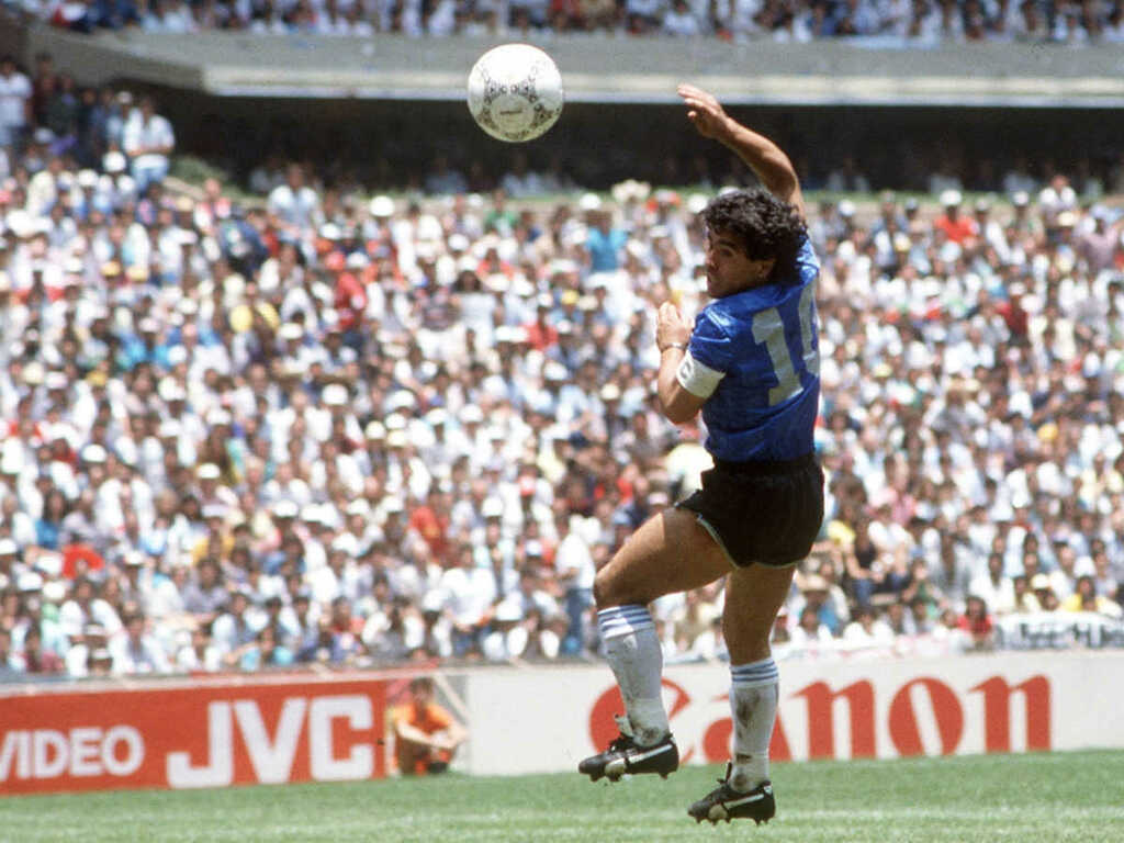 Maradona Pleads For 'Hand Of  God' To End Pandemic