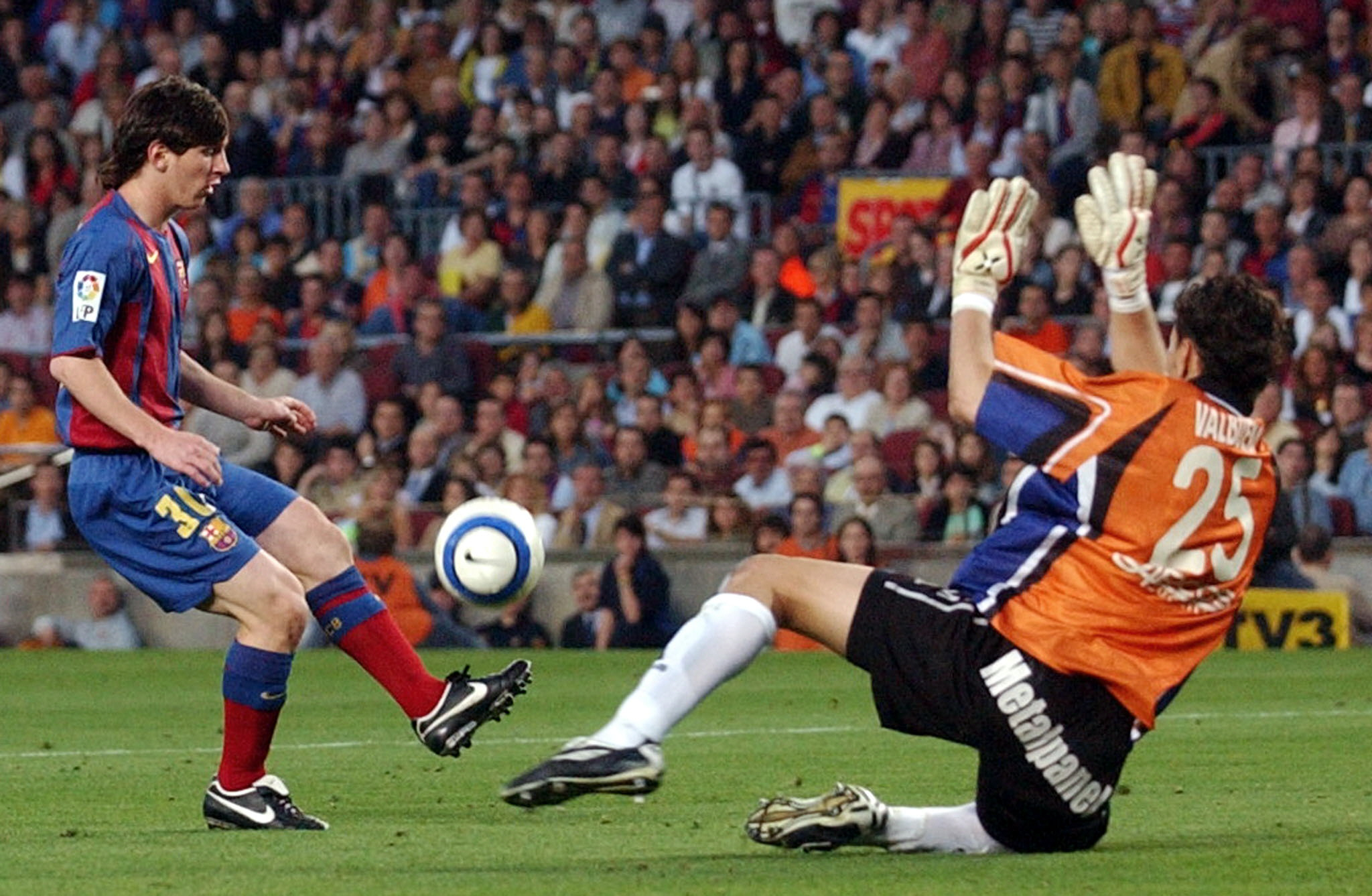 Where Are They Now? Barca's Starting XI Vs Albacete – Messi's First  LaLiga Goal