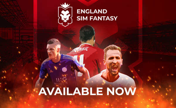 England Sim Fantasy: The English (Simulated) League Now Available At RealFevr!