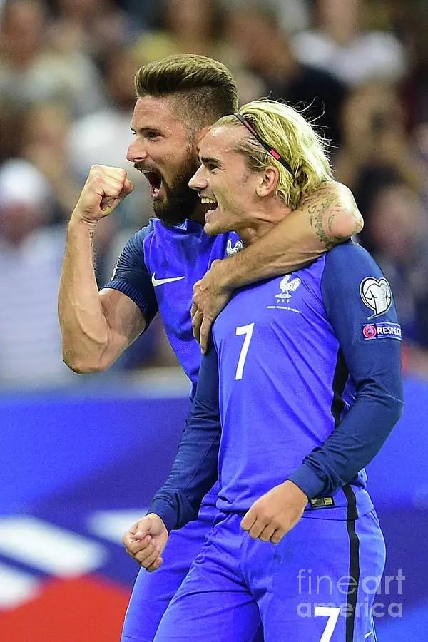 Griezmann Replies Benzema: Giroud Helped Us Win The World Cup